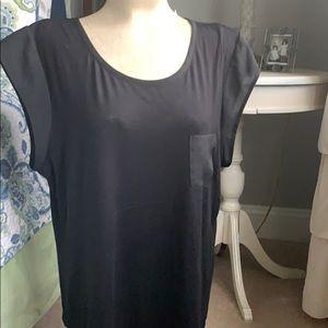 Calvin Klein black updated T-shirt